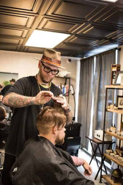 Hairstylists and barbers