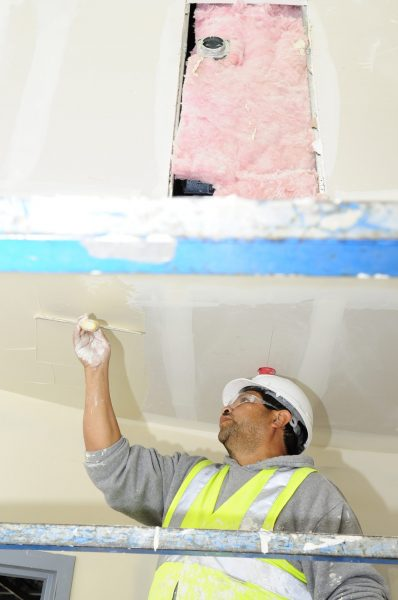Plasterers, drywall installers and finishers and lathers