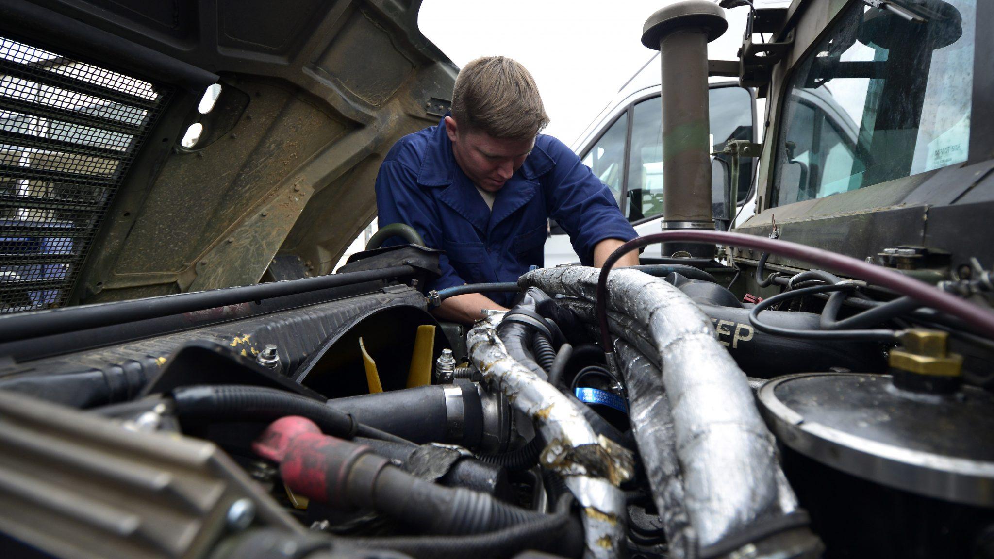 Automotive service technicians, truck and bus mechanics and mechanical repairers